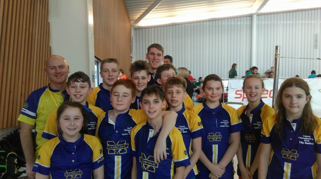 Making a big splash at county championships mansfield ashfield newsjournal for Ashfield swimming pool opening hours